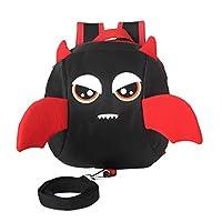PMJAdd8s4 Cartoon Animal Backpack,Cartoon Eyes Schoolbag Anti-lost Children
