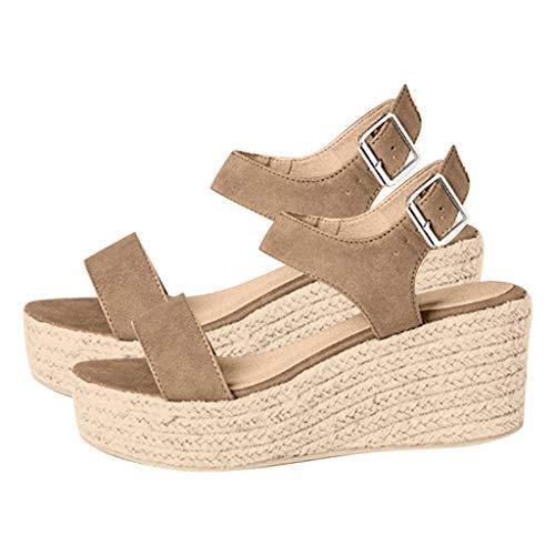 Scarpe di Legno Scarpe da Donna Scarpe Tacco Alto Scorpione Sandali Estivi da Donna Classici in Pantofola Casual Sandali Estive Scarpe da Ginnastica Traspirante