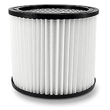Filtre à lamelles - Filtre à air - Cartouche filtrante pour aspirateur à eau - Lavable