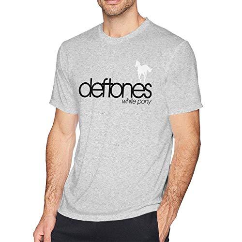 Boys Big Pony (Godyers O-Neck Fashion Deftones White Pony Short Sleeve T-Shirt for Mens and Boys Black,Gray,XX-Large)