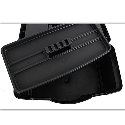 (475) Stabiler Werkzeugkoffer, Werkzeugbox, 22 x 45 x 26cm Werkzeugkiste - 3