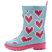 Outee Kids Boys Girls Wellies Wellingtons