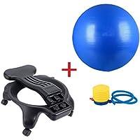 Sillas con balón de ejercicio Silla con Forma de Bola de Yoga Silla móvil con Forma de Yoga y Fitness Silla con Forma de Silla para Ejercicios de Fitness Puede soportar 300 kg