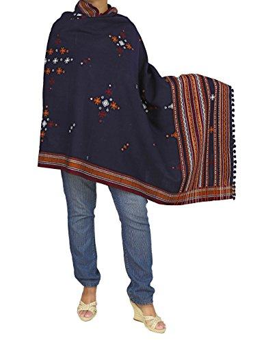 Tronc écharpe pour femme tissu voile main indiens dimensions : 92 x 213 cm