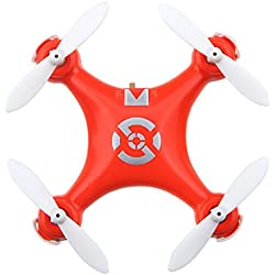 GoolRC Cheerson CX-10 Mini Drone 2.4G 4CH 6 Axes LED RC Quadcopter Jouet Hélicoptère - Orange