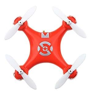 GoolRC Cheerson CX-10 Mini Drone 2.4G 4CH 6 Axes LED RC Quadcopter Jouet Hélicoptère - Orange
