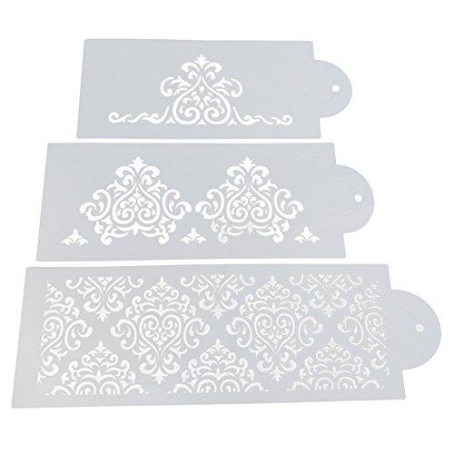 chengya 3DIY Kuchen Seite geprägt Vorlagen Fondant Cookie Dekorieren Werkzeug Küche bareware...
