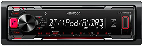 Kenwood Bluetooth (Kenwood KMM-BT203 Digital Media Receiver mit Bluetooth-Freisprecheinrichtung und Apple iPod-Steuerung schwarz)