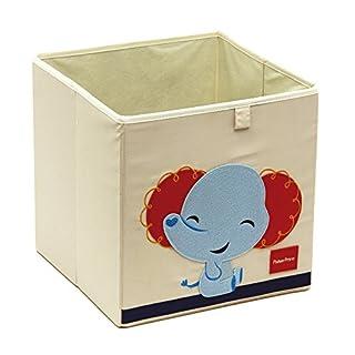 Arditex fp10130Aufbewahrung Würfel Box, Textil design Elefant