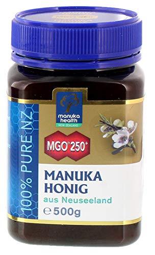 Manuka Health - Manuka Honig MGO 250 + 500g - 100{291cfb876b493002051e293eab52bf715ebf52b904f2d270c532fa972eeda450} Pur aus Neuseeland mit zertifiziertem Methylglyoxal Gehalt