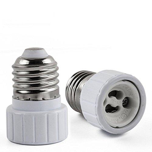 AWE-LIGHT E27 a GU10 Della Lampada LED Base Adattatore lampadina Convertitore - 6 Pezzi