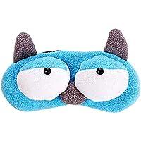 Preisvergleich für Zoylink Schlafendes Augen Schatten Reizende Karikatur Augen Schlaf Masken Augen Abdeckung Mit Eisbeutel