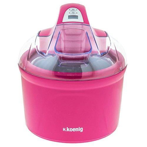 H.Koenig SRB60 - Máquina para hacer helados, 1.5 L