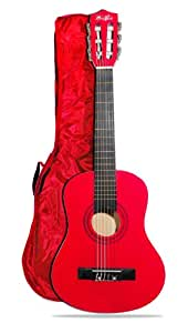 Music Alley Junior Guitar - Red