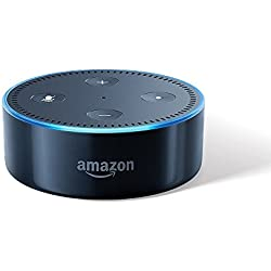 Echo Dot - Voice control your music, Make calls, Get news, weather & more - Black
