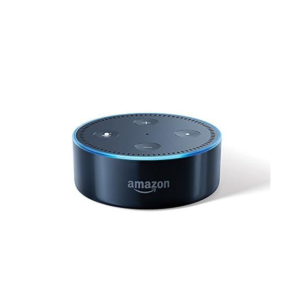 Echo Dot (2nd Gen) – Smart speaker with Alexa (Black)