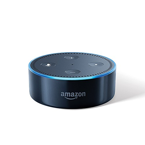 Echo Dot - Voice control your music, Get news, weather & more (Includes 1 Year Prime Membership) - Black