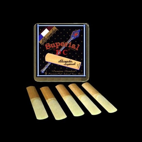 Blätter für Alt Saxophon - Superial DC - 5er Packung, Stärke 3,0