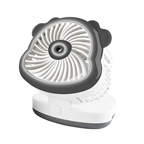 Preisvergleich Produktbild LCLrute Klimaanlage Kühlung Befeuchtung Fan USB Desktop Spray (Grau)