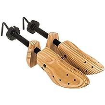MASTERS ORIGINAL LEATHER SPECIALISTS - Tendiscarpe regolabile in legno, adatto per scarpe maschili e femminili, con clip ad espansione per punti di pressione, previene borsiti, vesciche e calli