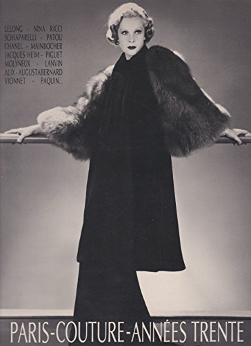 Lanvin Couture (Paris couture annees trente. exhibition catalogue 1987)