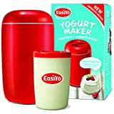 Easiyo même gemachter Yaourt Maker–Rouge
