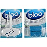 Bloo Value Pack Solid Rim & Refill Ocean Mist (1 Machine & 1 Pack of Refill)