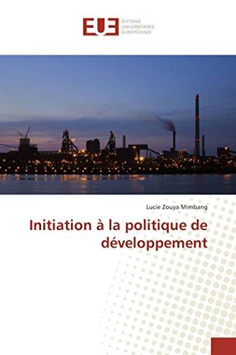 Initiation à la politique de développement