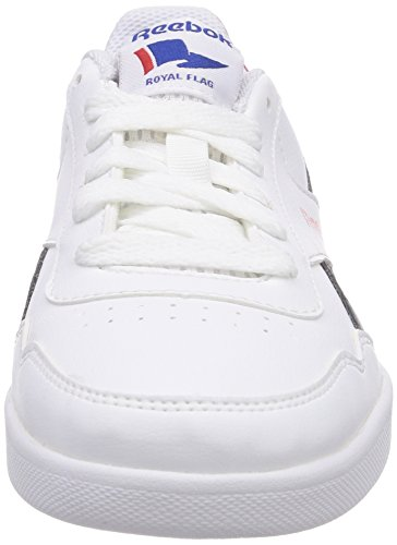 Reebok Royal Effect, Sneakers Basses Mixte Enfant Blanc