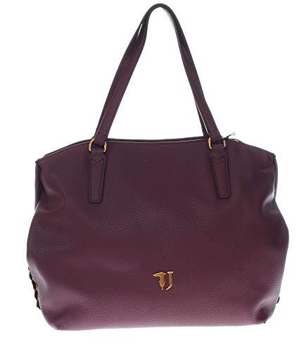 Trussardi Jeans Lavanda Tote Bag, Borsa Donna, Ros...