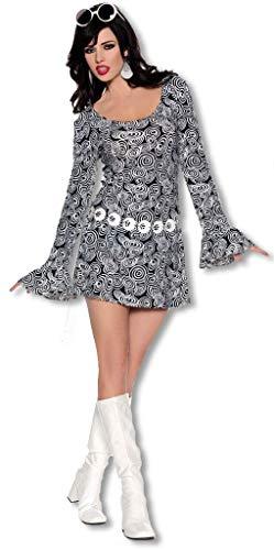 Horror-Shop San Francisco Hippie Mini Kleid Small