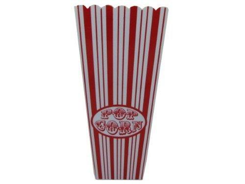 Red Striped Popcorn Bucket by bulk buys