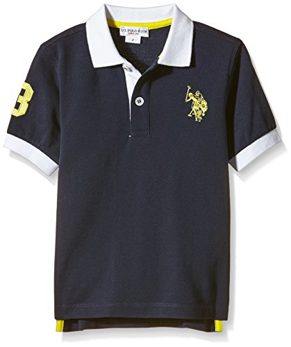 us-polo-assn-unisex-child-dbl-horse-ss-pole-blue-blu-177-size-6