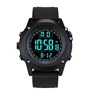 DOLDOA Sale Clearance for Mens Analog Digital Military Army Sport LED Electronic Waterproof Wrist Watches for Outdoor