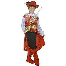 Disfraz de mosquetero d'Artagnan (4 à 6 Y O) bermoni (mosq-01)