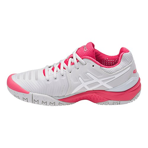 Asics Gel-Resolution 7, Scarpe da Ginnastica Donna Grey