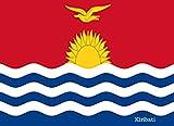 Kiribati: Patriotic Country National Flag Gift Journal Notebook