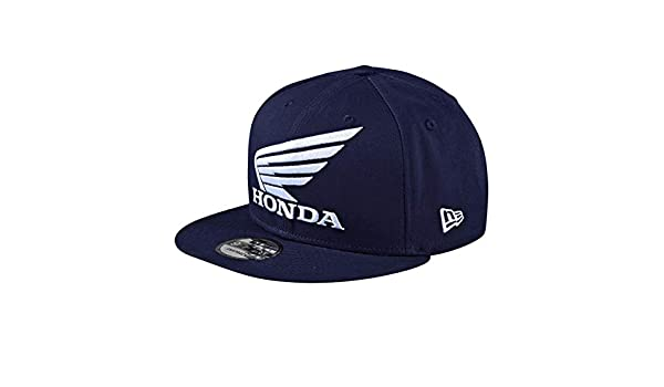 6ac7bb65647 Troy Lee Designs Honda New Era Navy Wings Snapback Cap  Troy Lee Designs   Amazon.co.uk  Clothing