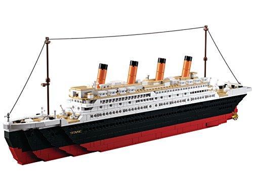 Lego-sets Weltkrieg (Funstones Bausteine Set XXL - Die Titanic das Schiff - Bau Steine Geschenk Idee)
