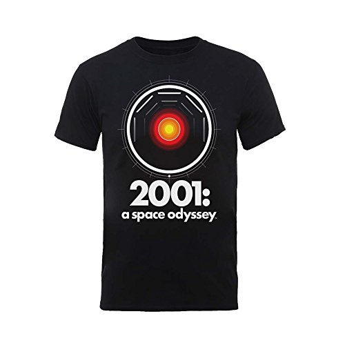 2001 A Space Odyssey HAL 9000 Stanley Kubrick Oficial Camiseta para Hombre (XX-Large)
