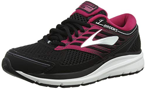 Brooks Damen Addiction 13 Laufschuhe, Mehrfarbig (Black/Pink/Grey 070), 40.5 EU
