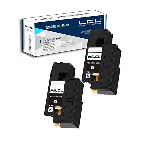 LCL Cartucce di Toner Compatibile 106R01630 (2 Nero) Sostituzione per XEROX Phaser 6000/6010/workcentre 6015