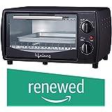 (Renewed) Lifelong LLOT10 650-Watt Oven Toaster Griller (Black)