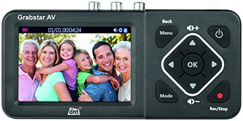 "dnt Video-Digitalisierer Grabstar AV, 8,9 cm (3,5"") Vorschaudisplay, S-Video, speichert auf USB/SD"