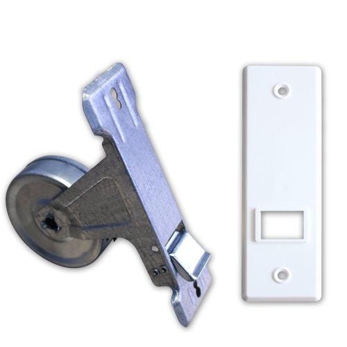 Gurtwickler inkl. Abdeckplatte Lochabstand 135mm bis 5m Gurt (für 20-24mm Gurtband)
