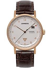 Junkers Herren-Armbanduhr Analog Automatik Leder 67564
