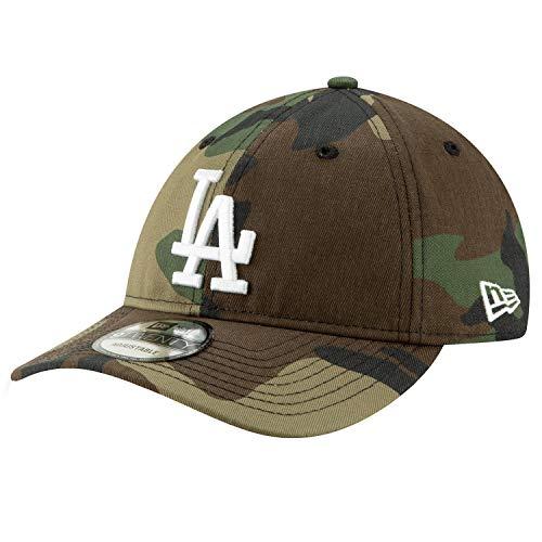 New Era 9TWENTY L.A. Dodgers Baseball Cap Camo packbar - Tarnfarben - Einstellbar