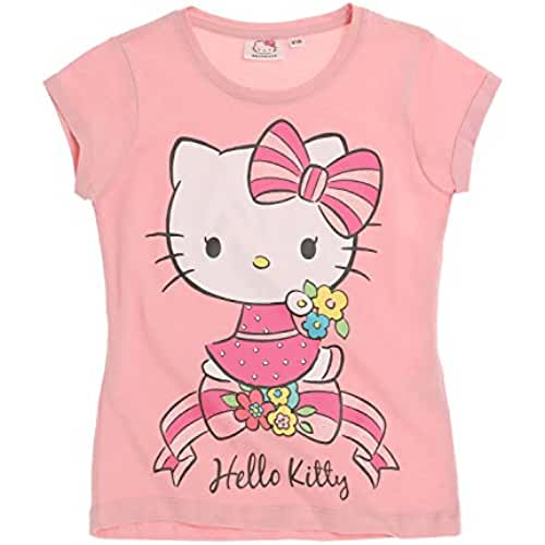 Hello Kitty Chicas Camiseta manga corta 2016 Collection - fucsia