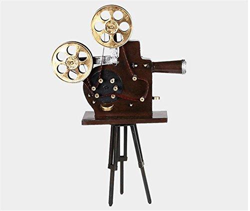 Ornamenti del proiettore del treppiedi continentale Retro antico dell'annata Vecchio film della pellicola di modo Proiettore Modello Decorazione