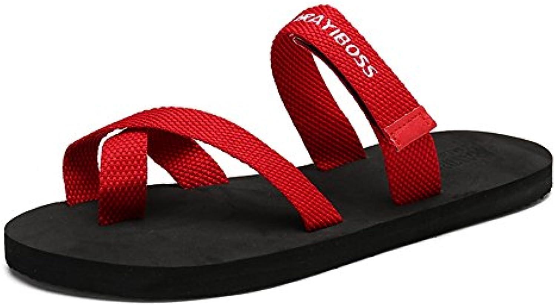 GSHE Shoes Flip Flops Für Männer Oder Frauen Rutschfeste Sommer Strand Hausschuhe Große Größe Extra Breite Plattform